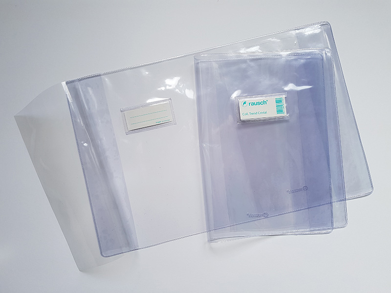 COUVRE-CAHIER 24X32 CRISTAL